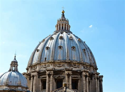 St Peters Cupola St Peters Basilica Dome Vatican City Italy Photograph By