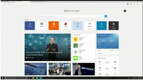 edge microsoft windows 10 browser microsoft launches windows 10 with new web browser edge