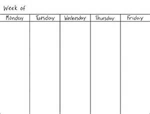day to day calendar template blank weekly calendars printable activity shelter