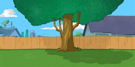 Phineas And Ferb Backyard Episode by Phin Ferb Backyard Draw By Me By Angelina747 On Deviantart