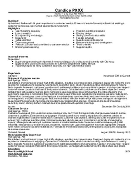 Resume Help Rock Ar 11 Customer Service Resume Exles In Springs National Park Ar Livecareer