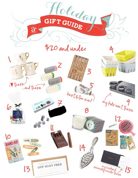 ideas for unisex christmas gifts under 20 ruff draft gift guide 20 and anders ruff custom designs llc