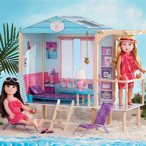 journey girl doll house journey girls beach hut toys r us australia join the fun