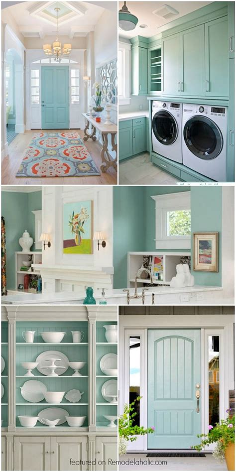 beautiful light blue gray paint color   versatile
