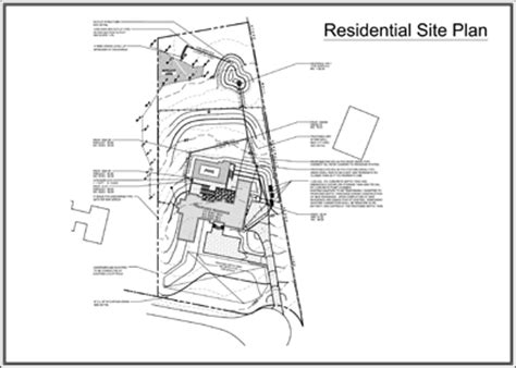 site plan residential