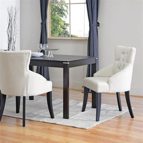 Beige Dining Chairs Baxton Studio Halifax Beige Fabric Upholstered Dining Chairs Set Of 2 2pc 3771 Hd The Home Depot