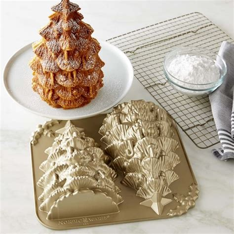 nordic ware christmas tree cake pan nordic ware tree cake pan williams sonoma