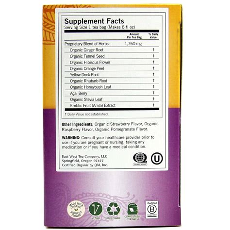 Berry Detox Tea Reviews by Yogi Tea Organic Teas Blend Detox Berry 16 Bags