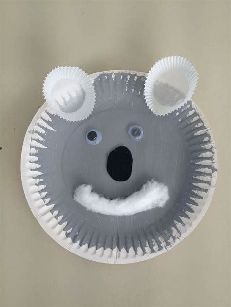 Koala Paper Plate Craft - 102 best images about zoo theme on zoo
