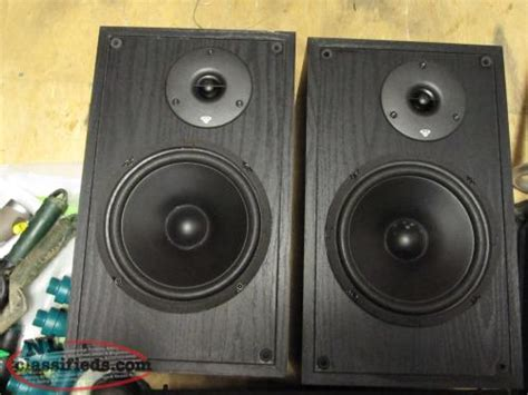 cerwin ls 8 bookshelf speakers st johns newfoundland