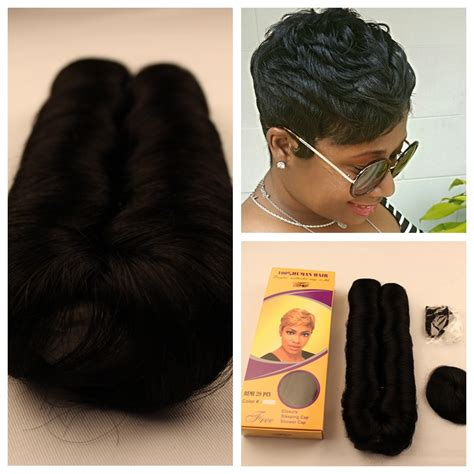 short stleys of bump weave short bump hair weave 2pc virgin brazilian real human
