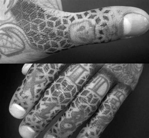 finger tattoo ideas for men 75 finger tattoos for manly design ideas