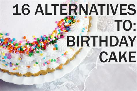 creative alternatives  birthday cake