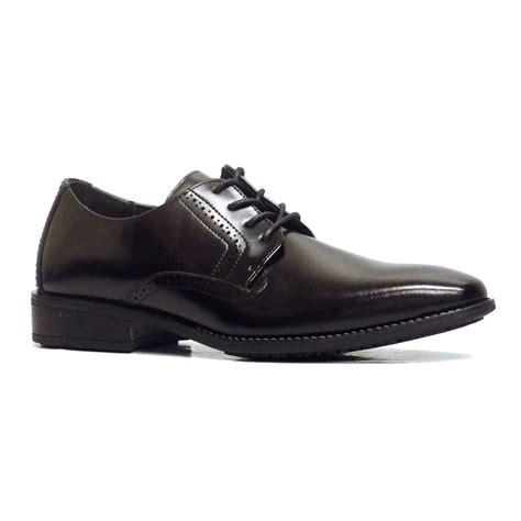 ardell mens black leather slip resistant non