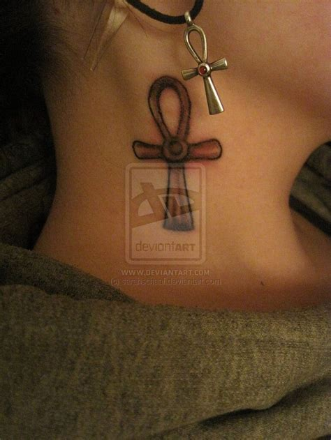 ankh tattoo behind ear 45 best images about ankh tattoo s on pinterest ink