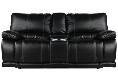 norfolk power reclining loveseat wconsole barnes power reclining loveseat w console living spaces