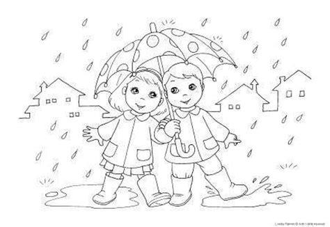 imagenes de invierno con lluvia invierno de lluvia para colorear imagui