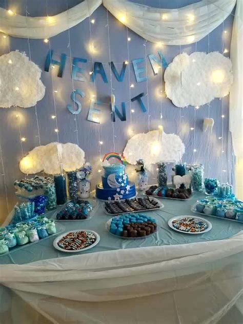 Boy Themed Baby Shower Ideas by Baby Shower Decoration Boy Boy By Shower Decorations Ideas