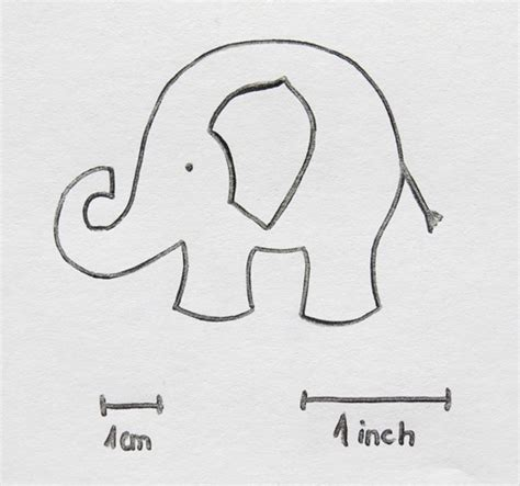 pattern elephant meaning how to sew super cute elephant for luck free pattern