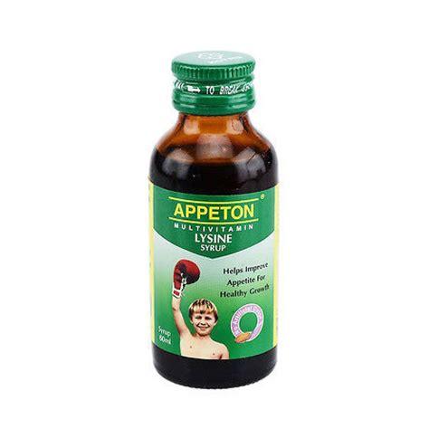 Appeton Lysine Syrup 120 Ml by Appeton Multivitamin Lysine Syrup 120ml Farmasi Park City