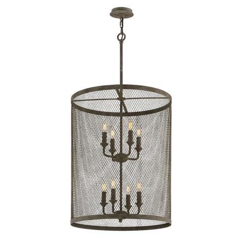 commercial electric 3 light rustic iron pendant ess8913