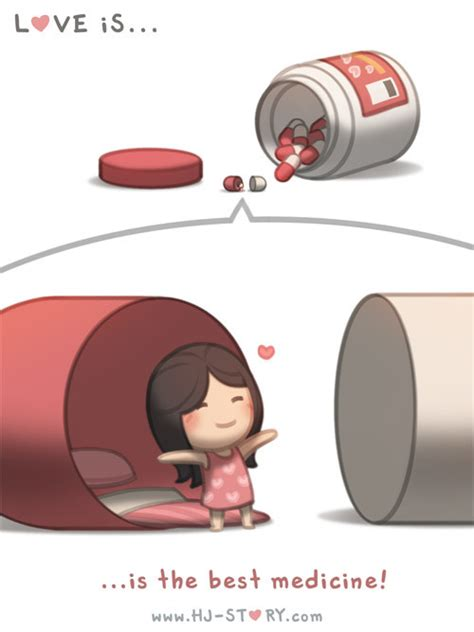 themes love medicine check out the comic hj story love is the best