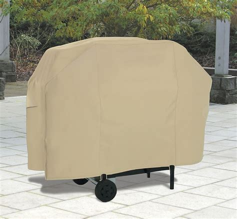 Gas Smoker And Fryer Grill Covers Outdoor Patio Backyard Grill Cover