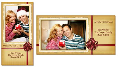 4x8 photo card templates free merry 4x8 greeting card template 4e002