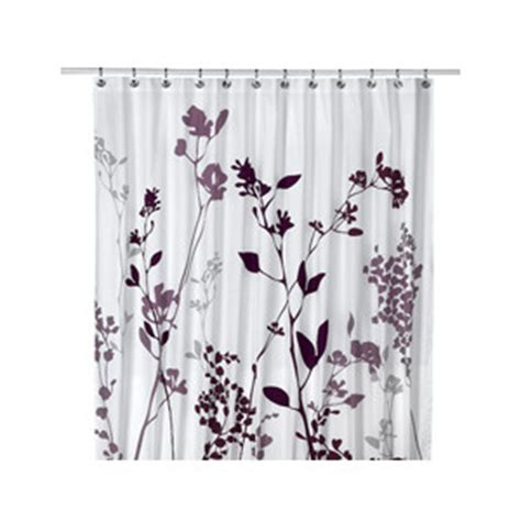 Shower Shoes Bed Bath And Beyond reflections 72 quot x 72 quot purple fabric shower curtain polyvore