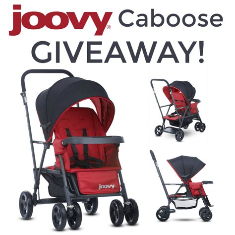 Double Stroller Giveaway - win a joovy caboose graphite stroller us ends 7 24