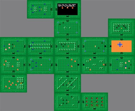 legend of zelda map of dungeons zelda capital the legend of zelda dungeon maps