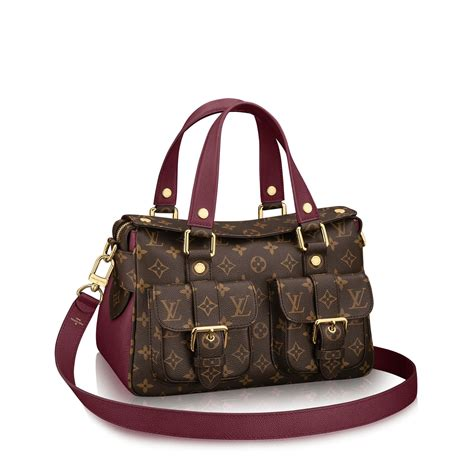 Lv Cabas Tote Semprem manhattan tela monogram borse da donna louis vuitton