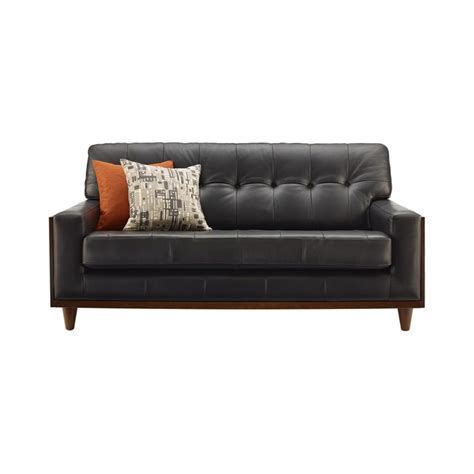 Leather Sofa Small Best 25 Small Leather Sofa Ideas On Leather Living Room Furniture Diy Upholstered