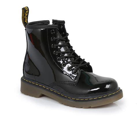 dr martens black delaney leather boots sizes 10 2 ebay