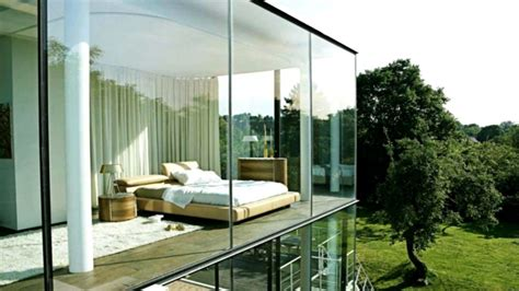 modern glass homes modern glass house interior www pixshark com images