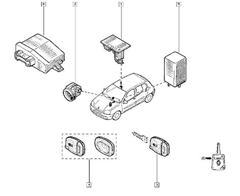 renault clio central locking wiring diagram renault