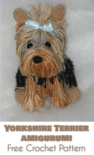 amigurumi yorkie pattern 188 best amigurumi toys free images on pinterest