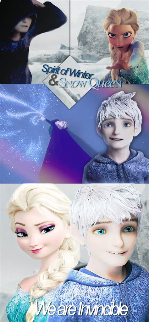film elsa and jack frost we are invincible jack frost and elsa by thewinterhope
