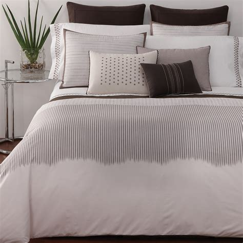 vera wang bedding vera wang ribbon stripe bedding bloomingdale s