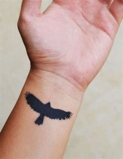 eagle wrist tattoo 55 best hawk tattoos design and ideas