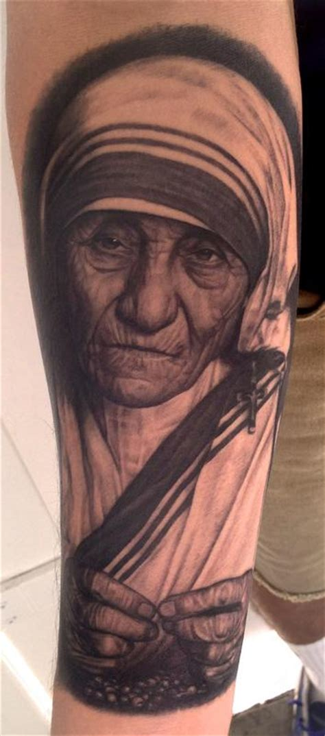 mother teresa tattoo pepper teresa