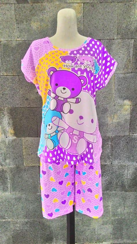 Grosir 3pcs Baju Tidur Wanita Dewasa grosir baju tidur murah 24ribu