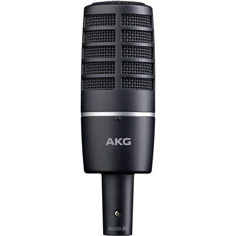 Akg C4500 B Bc Condenser Studiobroadcast Microphone akg c4500 bc front address condenser microphone 2820x00220 b h