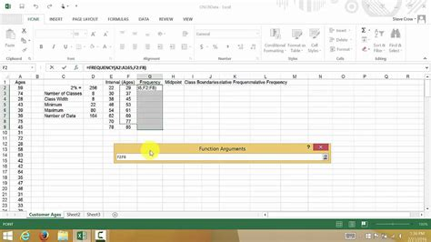 create frequency table in excel how to a distribution table in excel how to a
