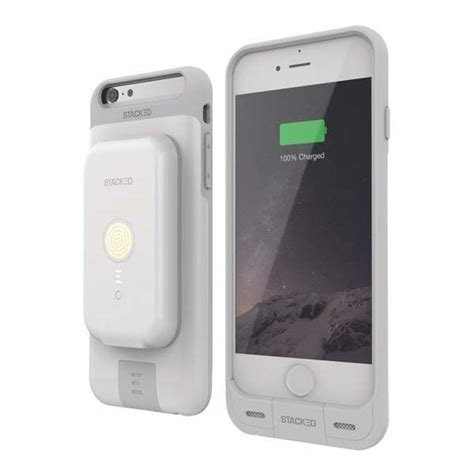 Iphone 6 6s Plus Powerbank Power Bank Armor Cover Casing 8000mah stacked iphone 6s 6s plus boasts included wireless charger and power bank gadgetsin