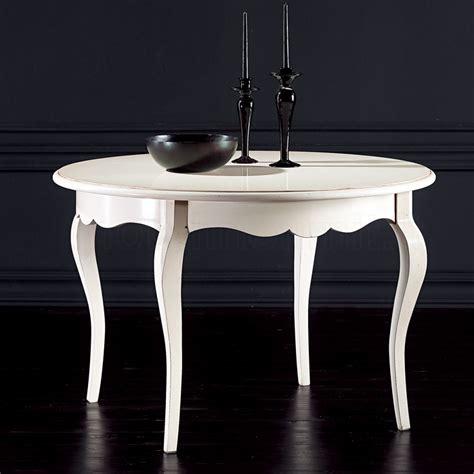 tavolo bianco anticato tavolo rotondo allungabile 120 bianco anticato
