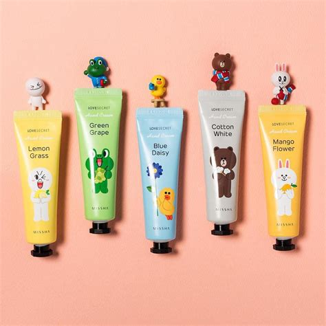 Missha Secret Line Friends Edition review missha line friends edition secret handcream bahasa live your