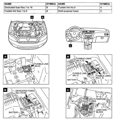 i need a fuse box diagram for 2002 lancer