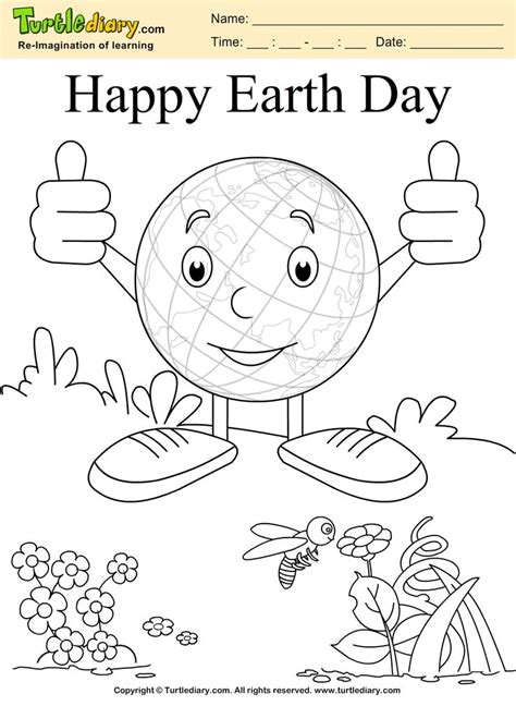 earth day coloring pages wallpapers 17 best images about giveaways on pinterest free