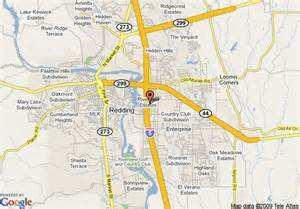 map of la quinta inn redding redding
